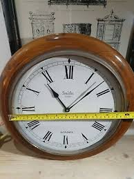 large smiths enfield london wall clock