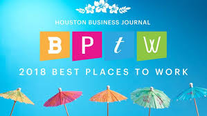 the houston business journal named 102 companies to its 2018 best places to work awards