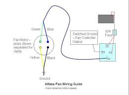 altimafanwiringdiagram jpg the wires on the car harness side of the altima fans have different color coding but should be easy enough to figure out based on the schematic below