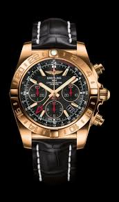 Strap In Watch Onyx Traveler's 44 By Breitling 18k Rose Timepieces Breit… Gold Limited Case - Edition Croco Sparkling Dial Gmt Black Chronomat 2019