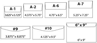 Size Of 10 Envelope Mcconnell Printing 10 Envelope