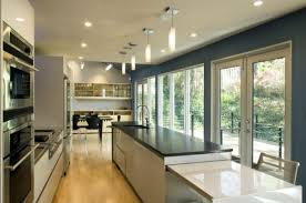 View in gallery. This contemporary kitchen is also long ...