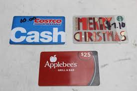 an image relevant to this listing starbucks costco applebees gift cards