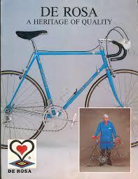 Vintage De Rosa 1986 Bike Catalog Saarf London
