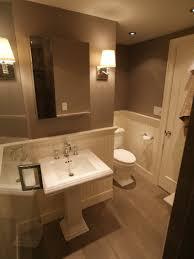 Bathroom Half Ideas Brown Navpa - Half bathroom