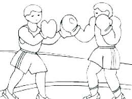 Boxing Gloves Coloring Pages Printable Pictures Amazing A Sheets Day