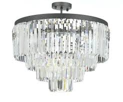 odeon crystal chandelier living glamorous crystal chandelier s retro odeon crystal fringe 3 tier chandelier chrome