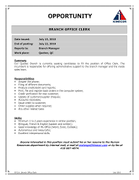Back Office Resume Sample resume format for back office Enderrealtyparkco 1