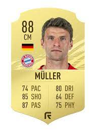 Should Muller be an 88/89 on FIFA 21 ? : FIFA