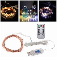 Usb Powered Outdoor Lights Led String Lights 5m 10m 5v Usb Powered Copper Wire String