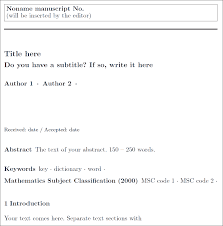 Journal Templates Chapter 13 Journals R Markdown The Definitive Guide