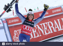 Courchevel, France, Dec 17 2019, Federica Brignone of Italy ...