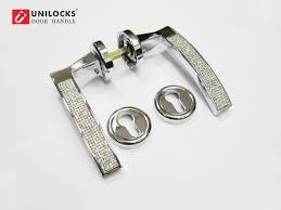 Crystal door knobs with lock – Door Knobs