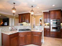 ... Open Kitchen Island Remarkable Nice Warm Nuance Open Kitchen Designs  With Island That Can Be Decor ...