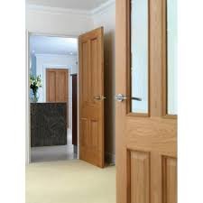 internal oak fully finished victorian 4 panel classic royale e14m solid fd30 fire door with raised