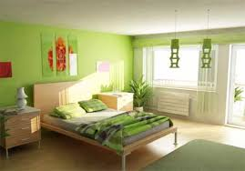 Green Color Interior Painting CostaMaresmecom - Green bedroom