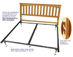 Automatic Hook-on Headboard Frame - For Queen and King