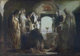 Живопись на библейские сюжеты Преломление Хлеба картина живопись на библейский сюжет художник Дмитрий Хомяков