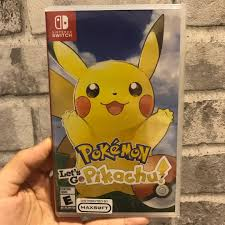 NEW] Nintendo Switch Game - Pokémon Let's Go Pikachu, Toys & Games, Video  Gaming, Video Games on Carousell