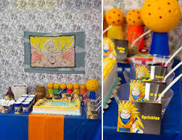 Dragon Ball Z Decorations Birthday Dragon Ball Z Birthday Catch My Party 5
