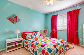 Red Bedroom Curtains Turquoise Bedroom Curtains Free Image