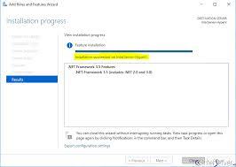 enable net framework 3 5 on windows