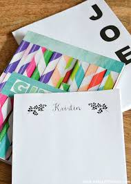 diy personalized notepads o little home papercraft holidaygift