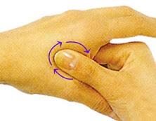 Risultati immagini per foto dei punti digitopressione mani