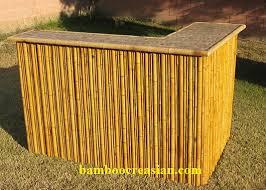 bamboo tiki bar l shape custom bamboo tiki bar bamboo bars set outdoor