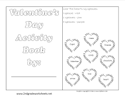 valentines day booklet