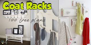 Custom Coat Racks 100 Coat Rack Plans Hall Tree Plans with Builtin Storage 82