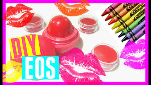 diy eos out of crayons crayon lipstick without coconut oil