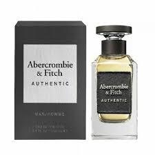 <b>Abercrombie</b> & <b>Fitch Authentic Man</b> Eau De Toilette <b>Men</b> 3.4 oz ...