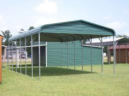 metal carport s florida vertical roof double car