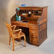 photo 9 of 20 antique roll top writing bureau desk oak edwardian globe wernicke rolltop c1910 superior antique desks