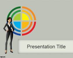 business ppt slides free download free business lady powerpoint template