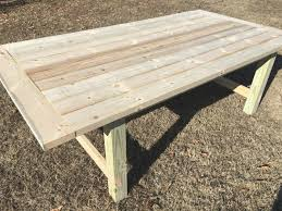 this rustic farmhouse table is a diy project you can complete in a weekend and it s a fabulous way to add some farmhouse charm to your home