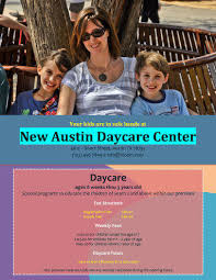 Childcare Flyers 5 Free Daycare Flyer Templates