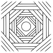 Disegno Di Un Mandala Da Colorare Disegni Da Colorare E Stampare
