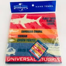 Details About Jaws Hand Towel Comparison Chart Ver Universal Studios Japan