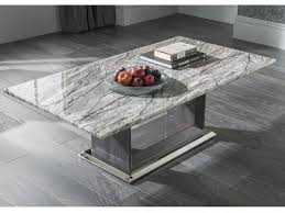 marble coffee table. Donatella Grey Marble Coffee Table L