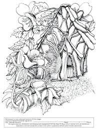 Adult Fantasy Coloring Pages Fantasy Fairy Coloring Pages Adult