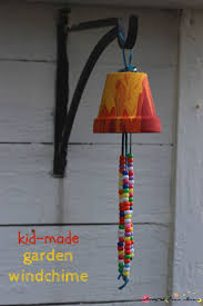 Kid Craft Idea: Homemade Garden Wind Chime, a sweet gift and a great way