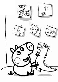 Candy cat peppa pig holidays coloring pages: Get This Peppa Pig Coloring Pages Free Printable 36313