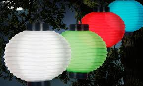 Discount Solar Powered Outdoor Chinese Lanterns  2017 Solar Chinese Lantern Solar Lights