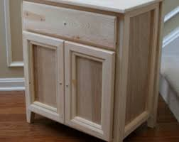 Unfinished wood furniture