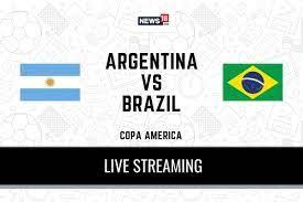 Copa America 2021 Argentina vs Brazil ...