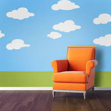 Gallery of Inspiring Wall Stencils For Painting Kids Rooms Design Ideas