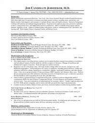 Cv Template For Physicians Write Happy Ending