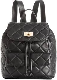 DKNY Gansevoort Quilted Nappa Leather Backpack | Where to buy ... & ... DKNY Gansevoort Quilted Nappa Leather Backpack ... Adamdwight.com